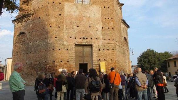 Uno dei gruppi in visita al centro storico