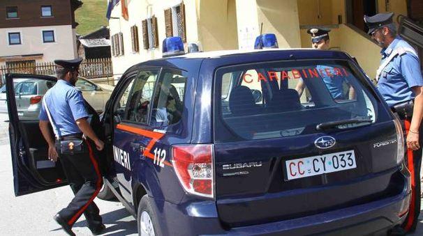 Una pattuglia dei carabinieri di Livigno (Orlandi)