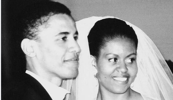 Una foto tratta dal profilo Twitter dell'ex first lady Michelle Obama (Ansa)