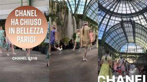 Chanel a Parigi, i modelli più giovani sono...