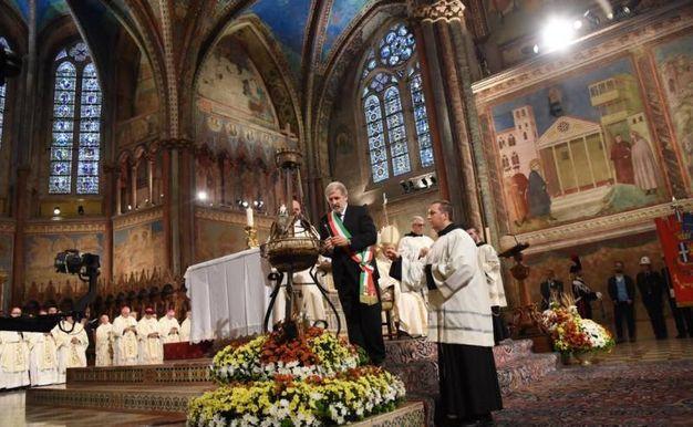 Assisi, la celebrazione della festa di San Francesco