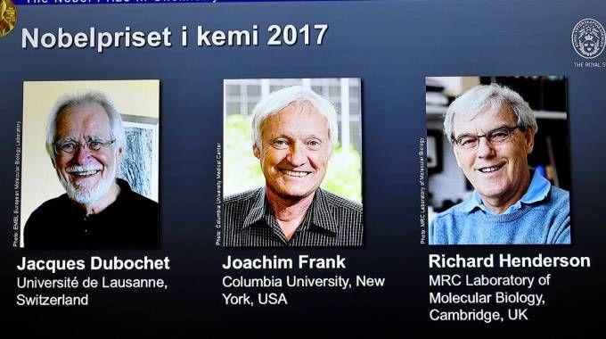 I vincitori del premio Nobel per la chimica (Lapresse)