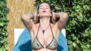 Aida Yespica, sensualissima al Grande Fratello Vip 2