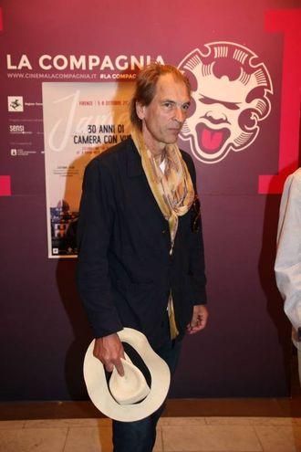James Ivory e Julian Sands a Firenze in occasione dei 30 anni dall'uscita del film Camera con vista  (Umberto Visintini/New Press Photo)