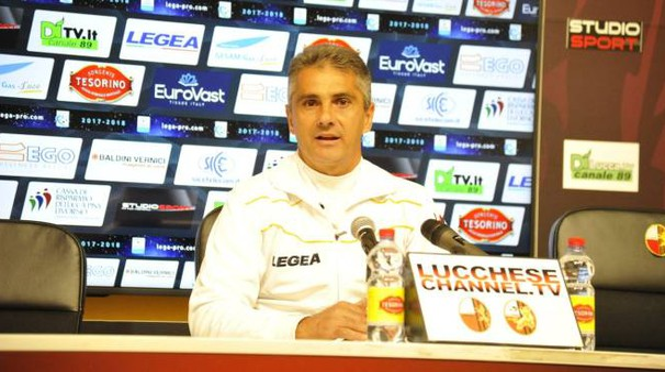 Il tecnico della Lucchese, Lopez (Alcide)