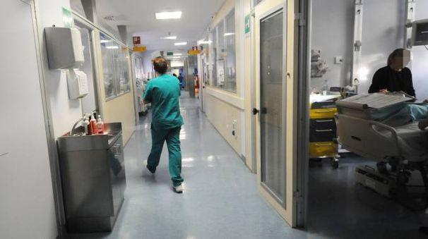 La terapia intensiva del policlinico Sant'Orsola (FotoSchicchi)