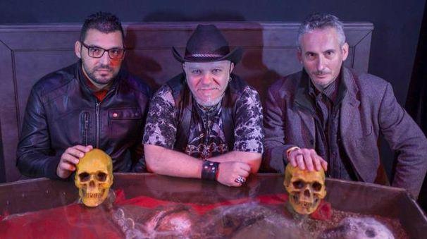 Serie tv sui Vampiri, provini a Rimini (foto Petrangeli)