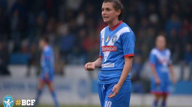 Capitan Cristiana Girelli non ha trovato la via del gol in casa dell'Ajax