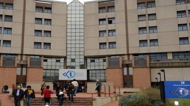 L'ospedale Torrette di Ancona