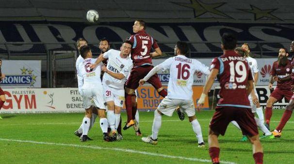 Un momento di Arezzo-Pontedera