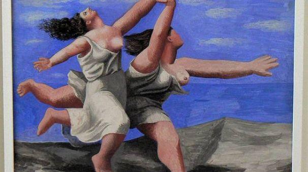 Due donne che corrono sulla spiaggia, Pablo Picasso
