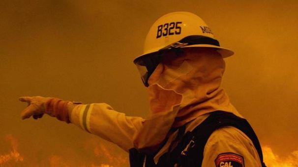 Una scena di Fire Chasers, visibile su Netflix - foto Original Productions