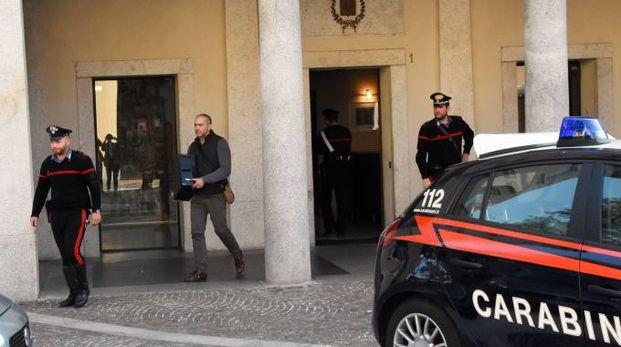 I carabinieri in Municipio