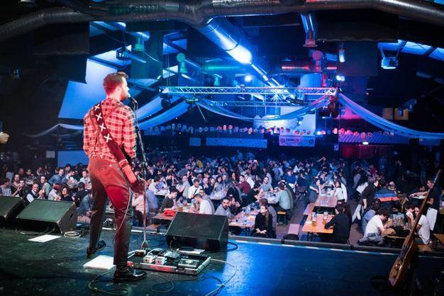 The Snoops suonano dal vivo (foto Schicchi)