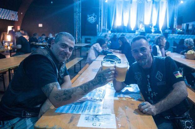 Per la serate è stata creata la Hacker-Pschorr, una delle migliori birre bavaresi (foto Schicchi)