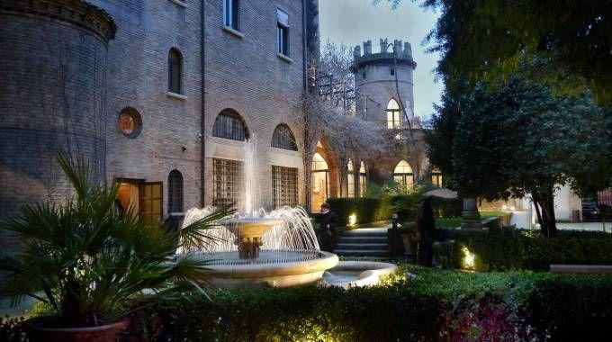 La Cripta Rasponi - Giardini Pensili in orario serale