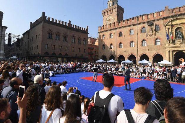 Più di 3mila ragazzi arrivati da tutta la regione (foto Schicchi)