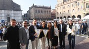 La giornata è stata organizzata da Melissa Milani, presidente Emilia Romagna del Comitato italiano paralimpico (foto Schicchi)