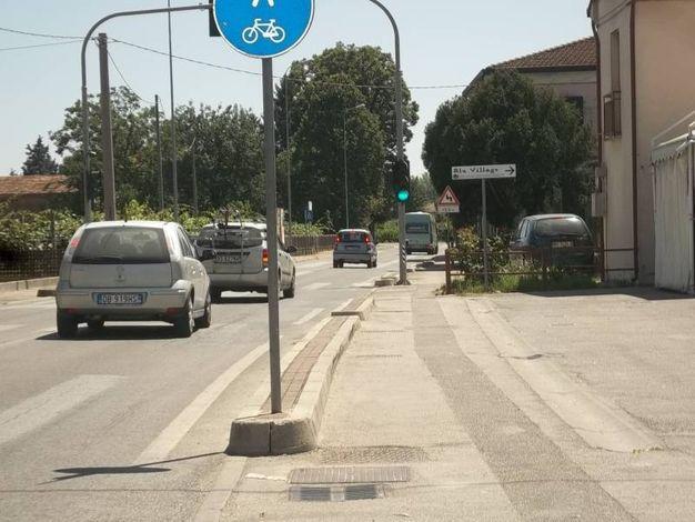 Interventi saranno effettuati anche a Belricetto (Foto Scardovi)