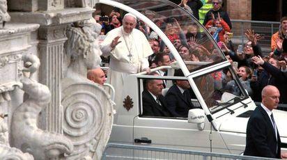 Il Papa a Cesena (foto Ravaglia)