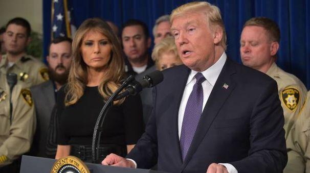 Il presidente americano Donald Trump (Afp)