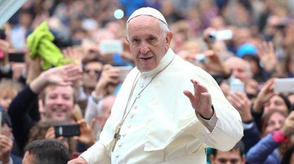 Papa Francesco tra i possibili candidati al Nobel per la pace (LaPresse)