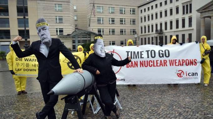 Iniziativa Ican contro le armi nucleari (Afp)