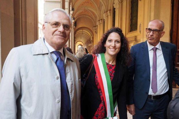 Presente anche la consigliera Pd Federica Mazzoni in rappresentanza del Comune (Ansa)
