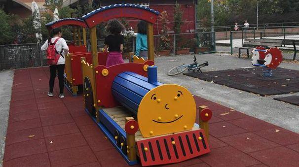 Il nuovo trenino della Lunetta Gamberini (foto Schicchi)
