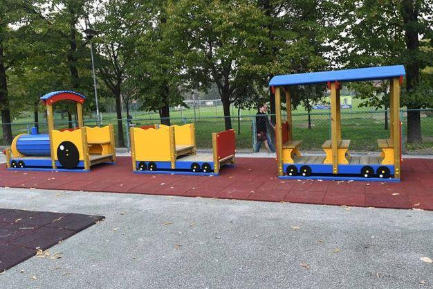 Il gioco alla Lunetta per la felicità dei bambini (foto Schicchi)