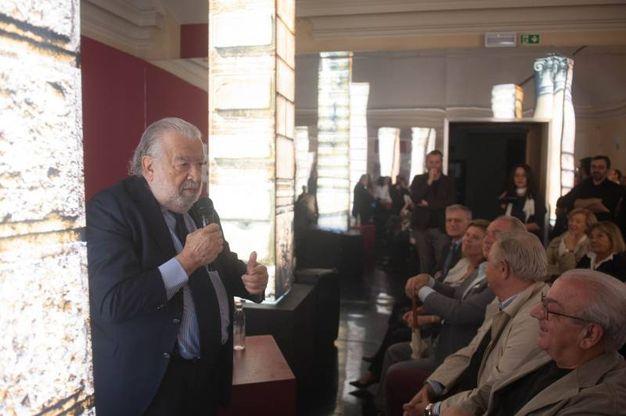 Pupi Avati incontra il pubblico a Palazzo Belloni (foto Schicchi)
