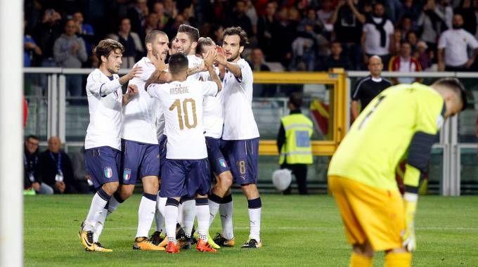 Italia-Macedonia 1-0 (Lapresse)