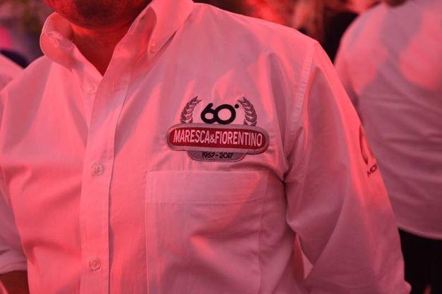 Il logo per i 60 anni di Maresca e Fiorentino (Foto Schicchi)