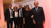 Le famiglie Maresca e Fiorentino con il ministro Gian Luca Galletti (Foto Schicchi)