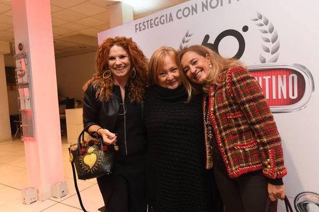 Da sinistra Maria Francesca Sassoli Wolli e Paola Sebellin (Foto Schicchi)