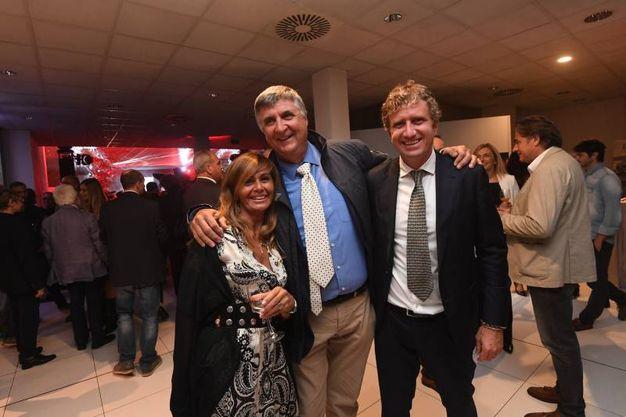 Da sinistra Patrizia Macchi, Celso de Scrilli e Pietro Maresca (Foto Schicchi)