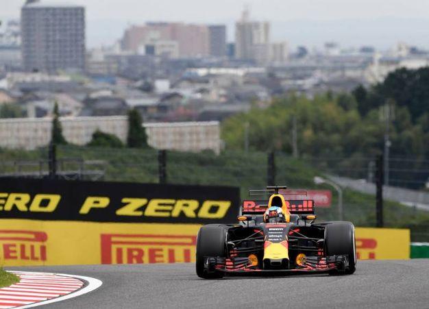 Ricciardo durante la Q3 (Afp)