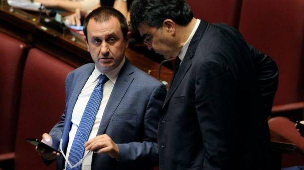 Ettore Rosato e Emanuele Fiano (LaPresse)