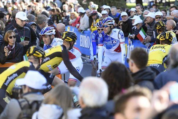 Giro di Lombardia, partenza da Bergamo