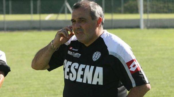 Castori è tornato ad allenare il Cesena (foto Ravaglia)