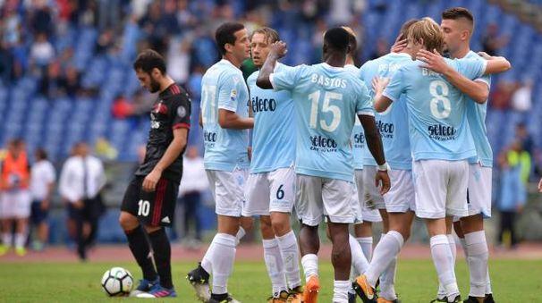La Lazio festeggia