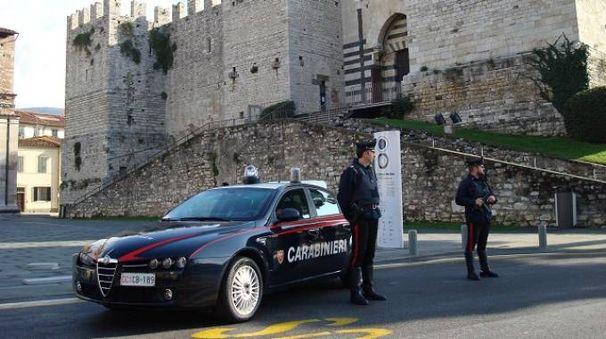 I carabinieri del nucleo radiomobile di Prato