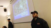 La conferenza sull'arresto dei rapinatori (Foto Schicchi)