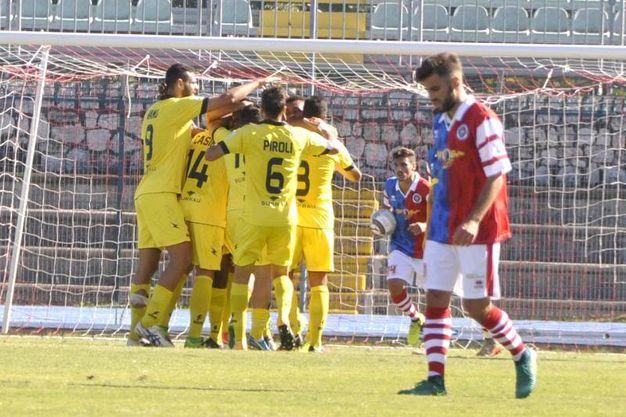 Gavorrano-Arzachena 1-4, le foto della partita (Aprili)