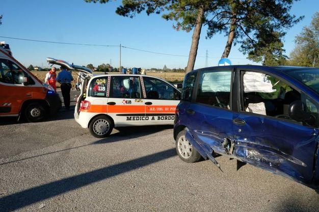 La vittima è un ravennate di 54 anni (Foto Fantini)