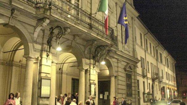 L'ingresso del teatro Fraschini