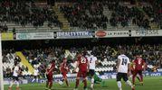 Il gol di Schiavone (foto Ravaglia)