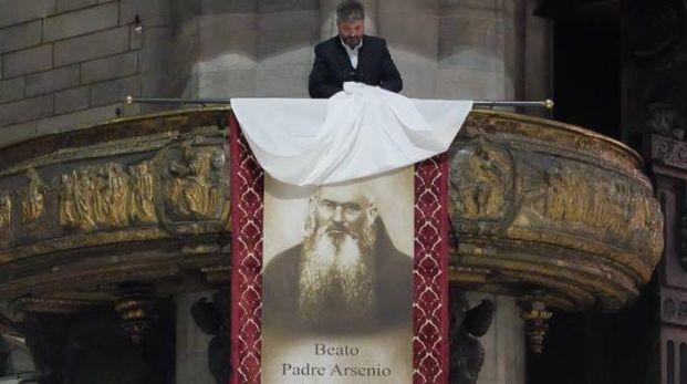 Un momento della beatificazione