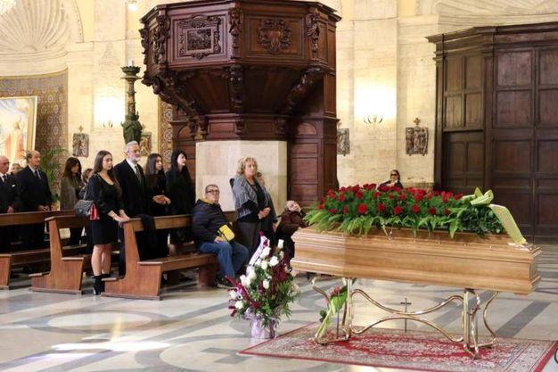 Il funerale di Franca Rozzi (foto Labolognese)