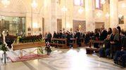 Tante persone al funerale di Franca Rozzi (foto Labolognese)